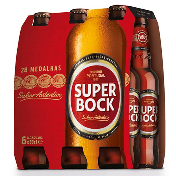 foto Cerveja Super Bock Pack 6 und