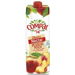foto Compal Nectar Pêssego 1L