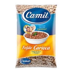 foto Feijão Carioquinha Camil 1kg