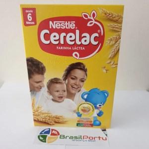 foto Nestlé Cerelac Farinha Láctea ao leite 750g