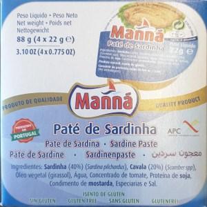 foto Paté Sardinha 88g