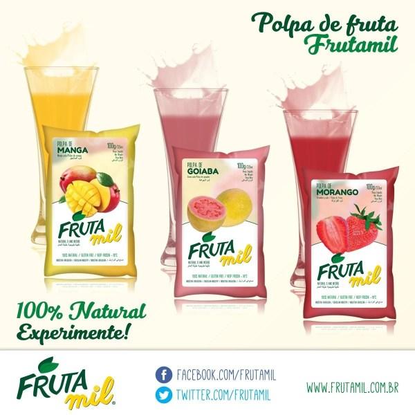 foto Polpas Frutas 100g - Sabores