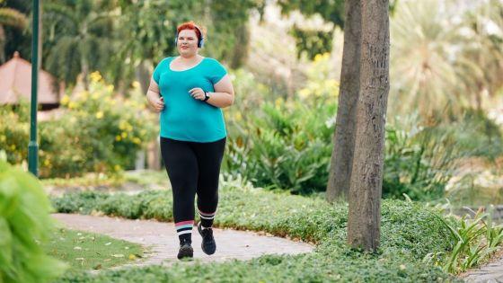 começar a correr com sobrepeso