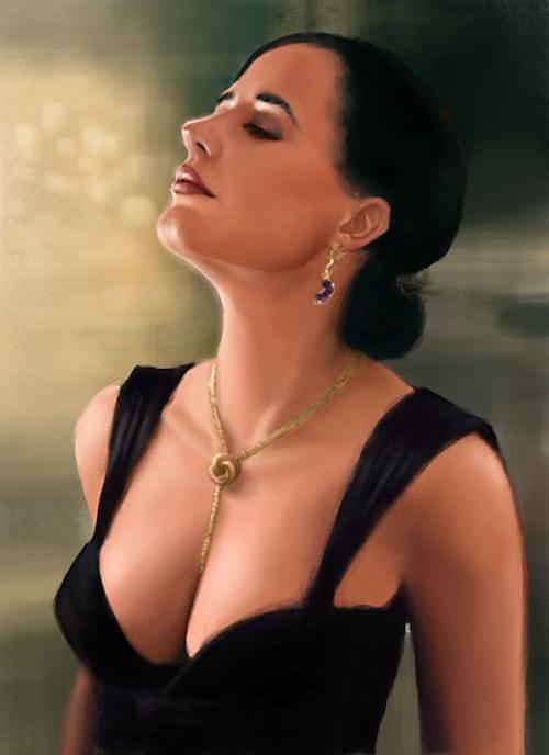 Eva Green Bra Size