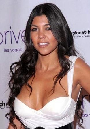 Kourtney Kardashian Bra Size