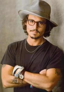 Johnny Depp Chest and Biceps Size