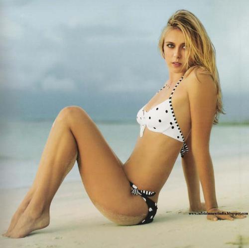 Maria Sharapova Body Measurements Celebrity Bra Size