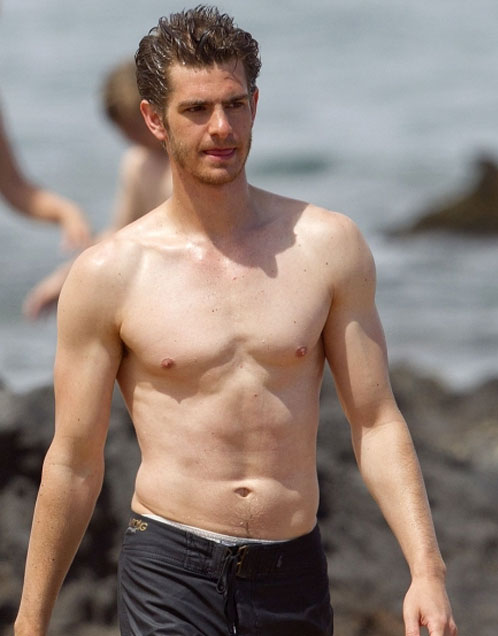 Andrew Garfield Chest and Biceps Size