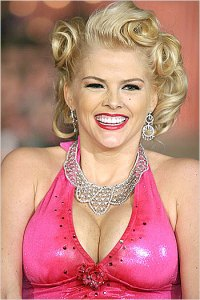 Anna Nicole Smith Bra Size