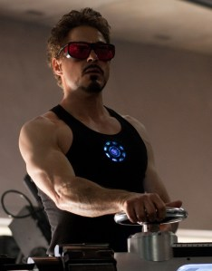 Robert Downey Jr Chest and Biceps Size