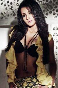 Trisha Krishnan Bra Size