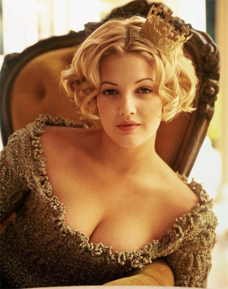 Drew Barrymore Bra Size