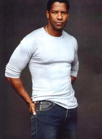 Denzel Washington Biceps Size