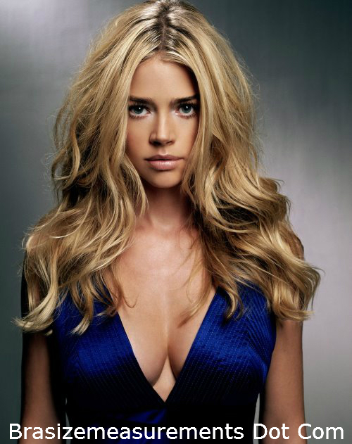 Denise Richards Bra Size
