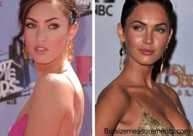Megan Fox Boob Job plastic Surgery