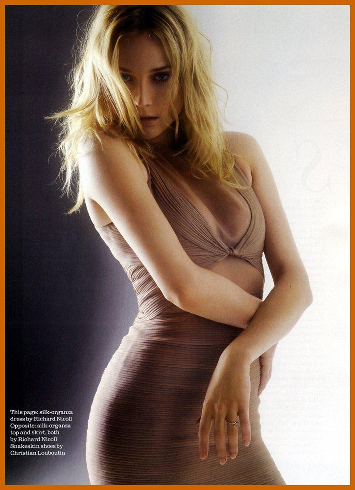Diane Kruger Bra Size