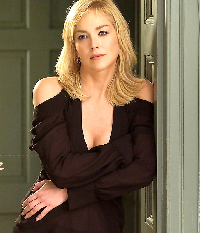 Sharon Stone Bra Size
