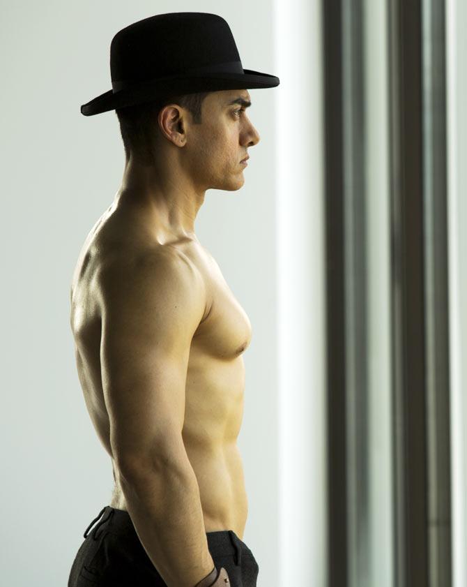 Aamir Khan Biceps Size