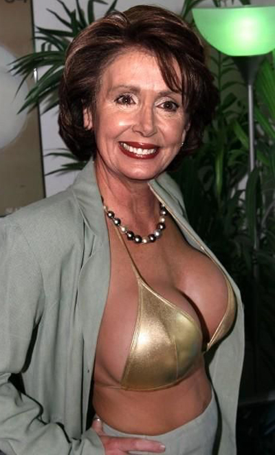 Nancy Pelosi Breast Size