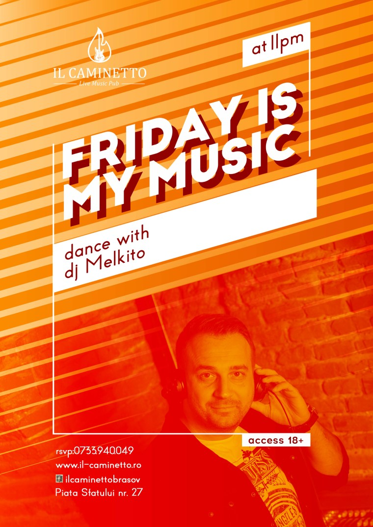 friday is my music melkito