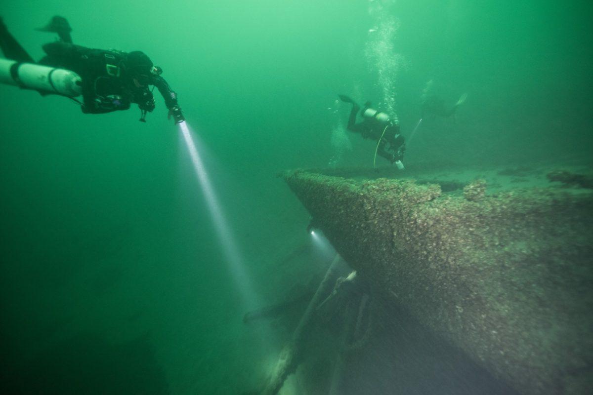Wreck Diver (Photo Credit - Blanchard)