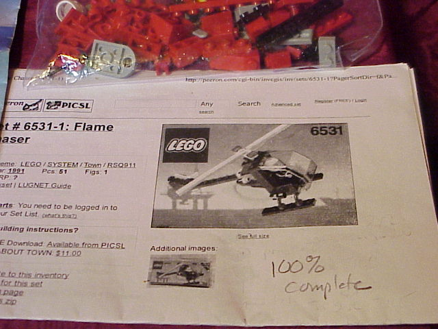 details about lego 6531
