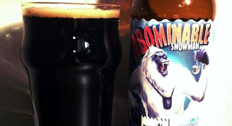 Abominable Snowman, une coconut choclate milk stout bien noire aux saveurs torréfiés et chocolatées... complexe et surprenante mais très douce et agréable ! - Dégustation beerychristmas 16 sur 24