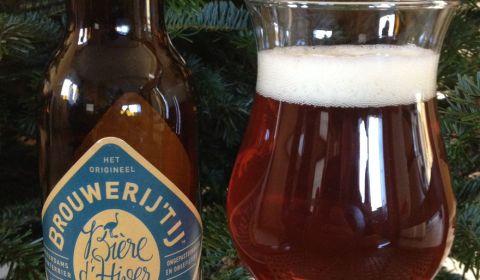 Bière de Noël par la Brouwerij't IJ d'Amsterdam, une bière épicée très ambrée et avec beaucoup de corps. Un délice pour la période de Noël ! :) (dégustation beerychristmas 16 sur 24)