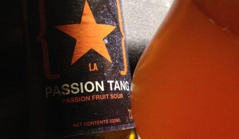 La PASSION TANG, un packaging sympa pour une bière acide au fruit de la passion délicieuse, facile à boire et rafraichissante