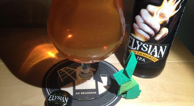 The immortal IPA par Elysian Brewery, une IPA en toute simplicité