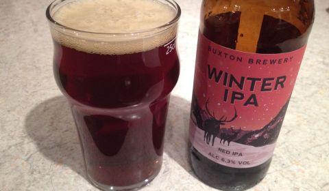 Winter IPA du Buxton Brewery, une IPA ambrée importée des USA pour le calendrier de l'avent de la bière BeeryChristmas.JPG