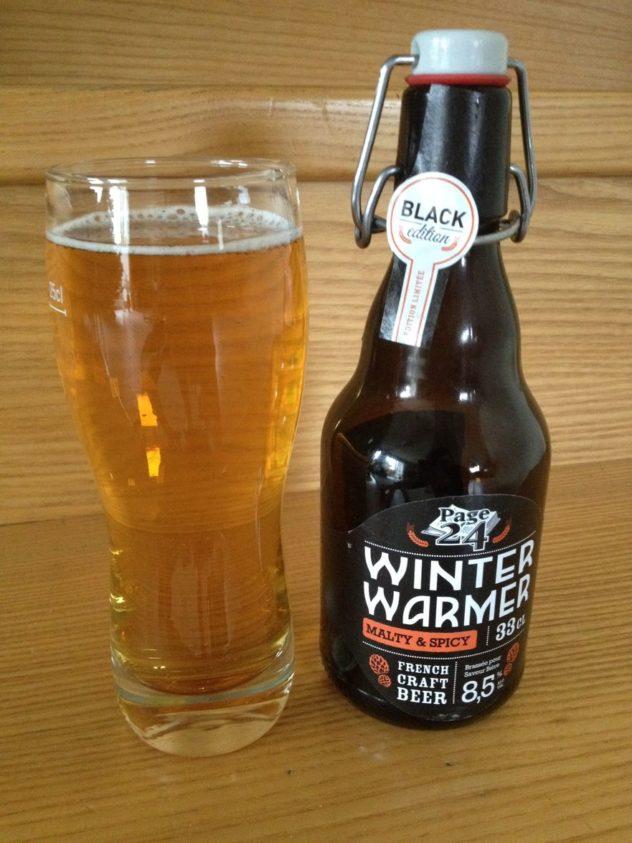 Winter Warmer de la brasserie Page 24, une blonde d'hiver originale aux épices pour réchauffer les cœurs - Dégustation #BeeryChristmas (18 sur 24)