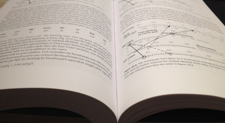 Page utile et facile règles de calcul eau de brassage How to Brew par John Palmer le livre le plus complet pour apprendre à brasser - super livre pour brasseurs amateurs