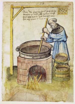Brasseur médiéval au quinzième siècle - Wikipedia