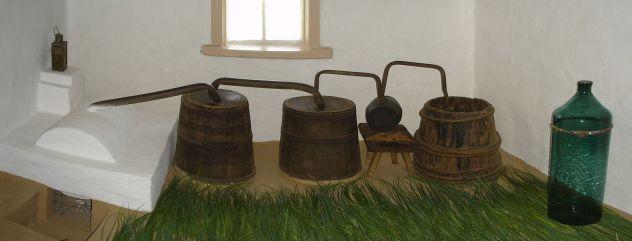 Distillerie en bois ukrainienne ancestrale au feu de bois - Wikipedia
