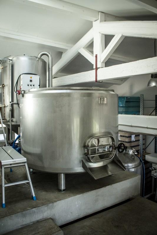 Cuve empâtage Bière