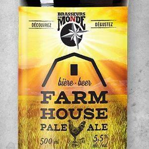 Farmhouse Pale Ale - Brasseurs du Monde