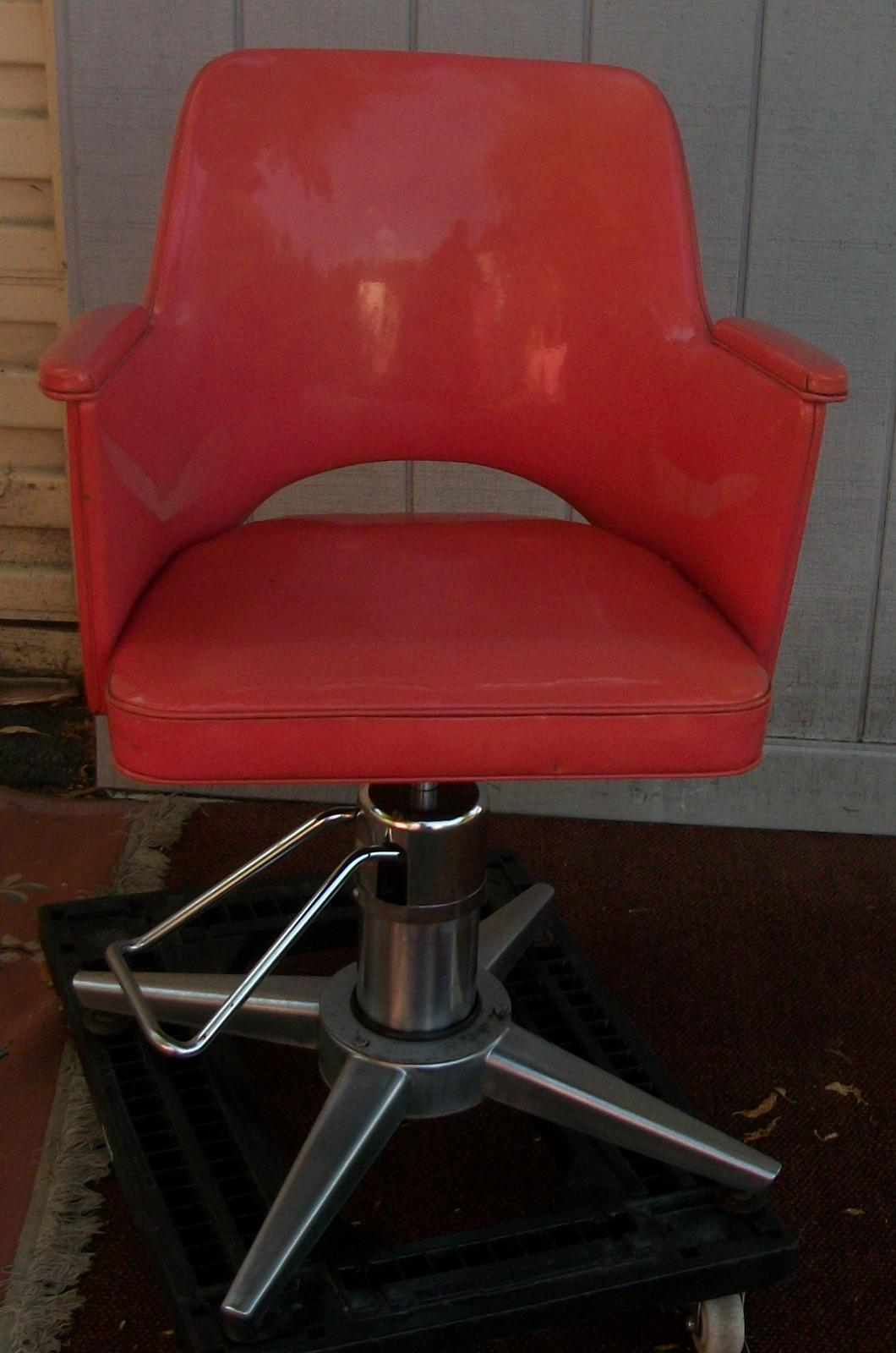 Salon Dryer Chair Salon Chair And Hair Dryer Brass Lantern Antiques