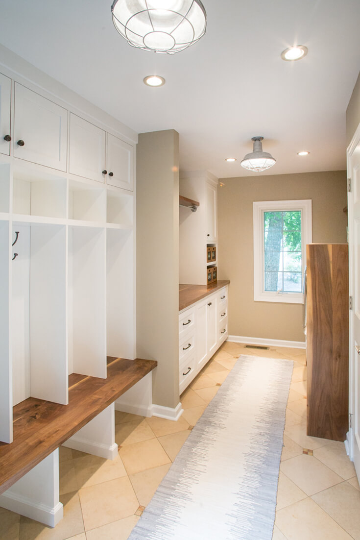 Laundry And Mudroom Millwork Brass Tacks Home