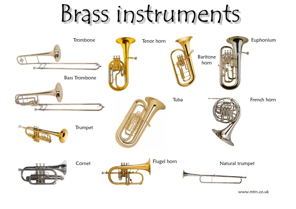 Brass instruments  BrassWoodwind