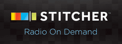 Image to subscribe via Stitcher Radio