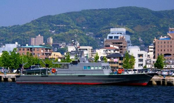 93' patrol boat