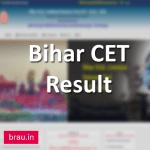 Bihar B.Ed. CET Result 2020