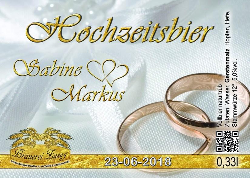 2018-06-23 Hochzeitsbier