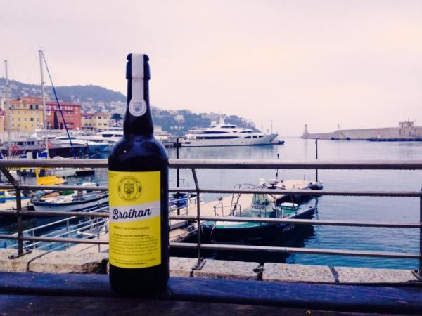Broihan im Hafen von Nizza