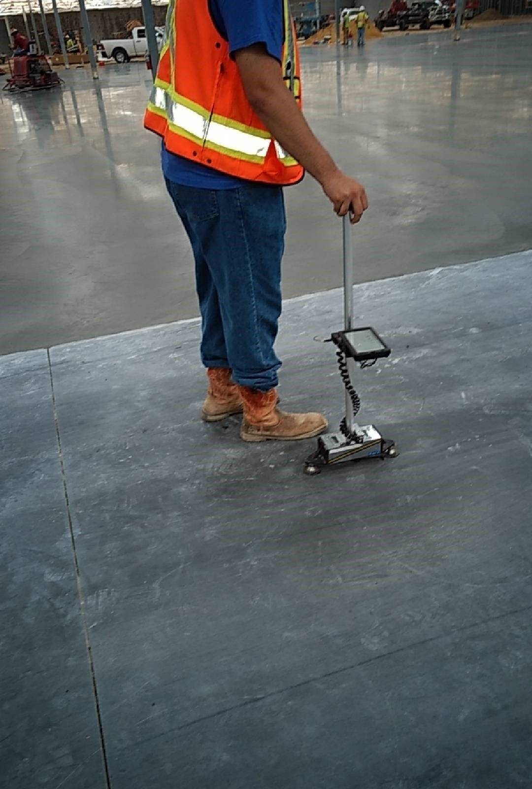 floor flatness testing  Braun Intertec
