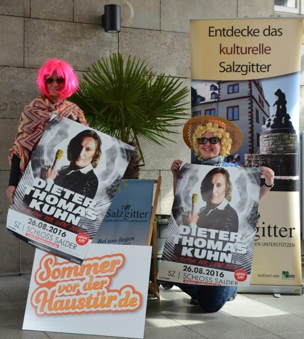 Die Touristinformation Salzgitter (WIS GmbH) mit ihrem Sommertipp