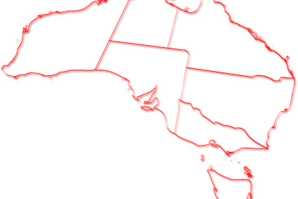 Austrália: Estados, territórios e principais cidades