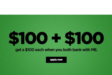 Banco australiano dá $100 para quem indicar novos clientes!
