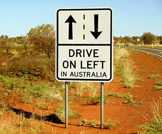 Dirigir na Austrália
